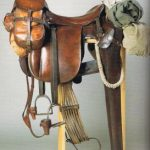 German army saddle